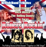 ROCKERS ROLLIN - tribute to Rod Stewart, Mick Jagger & other Rock Stars