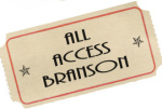 ALL ACCESS BRANSON GIFT CERTIFICATE